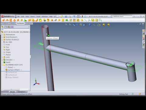SolidWorks Suspension Frame 2