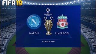 Napoli Vs Liverpool ! FIFA 19 ! Champions League 2019/20 ! Group Stage ! 18.09.2019