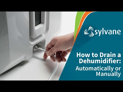 How to Drain a Dehumidifier Automatically | Sylvane