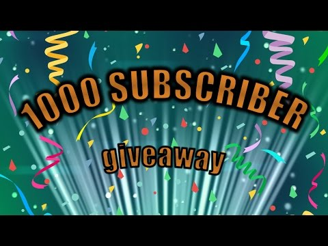 1000 Subscriber Special (GW2 giveaway)
