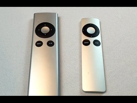 A generic aftermarket replacement Apple TV remote control review