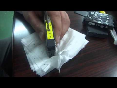 How to refill the epson expression home xp series