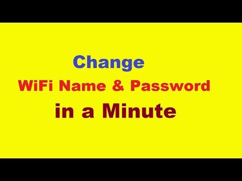How To Change WiFi Name and Password (Tenda Wireless Router) | Urdu/Hindi