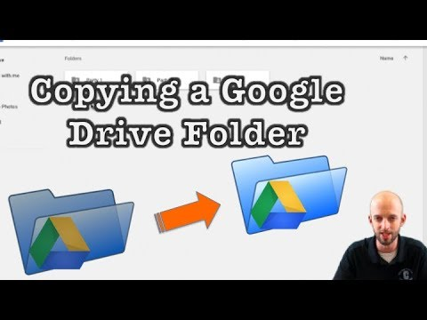 How to Copy A Google Drive Folder (Easy Work-Around)