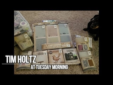 Tim Holtz At Tuesday Morning March 2018