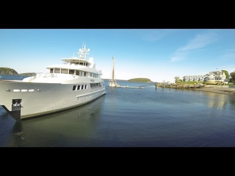 Bar Harbor, Maine - Lobster Boats Time Lapse