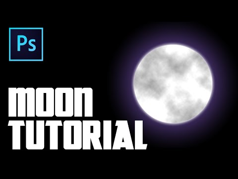 How To Create A Moon In Photoshop