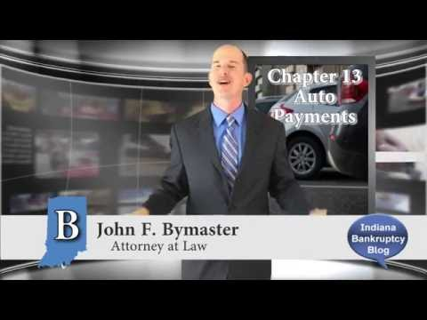 What Happens to My Car Payment in Chapter 13 Bankruptcy?