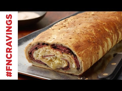 Reuben Garbage Bread | Food Network