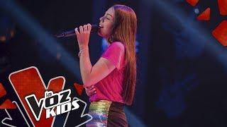 Alejandra canta When I Was Your Man – Audiciones a Ciegas   La Voz Kids Colombia 2019