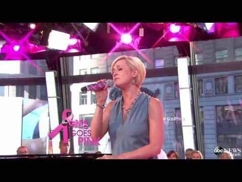 Kellie Pickler Breaks Down in Tears Performing on GMA for Breast Cancer Awareness