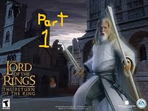 LordOfTheRings The Return of the King part 1 GANDALF is a BEAST
