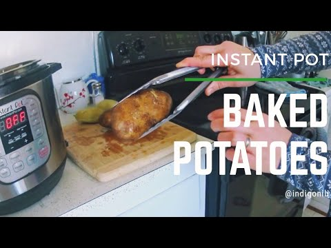 Baked Potatoes (Instant Pot)