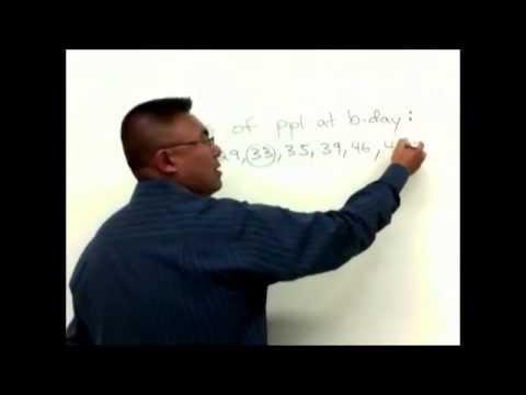 Mean, Mode, Median, Midrange: Statistics Practice Problems for Calculating Average