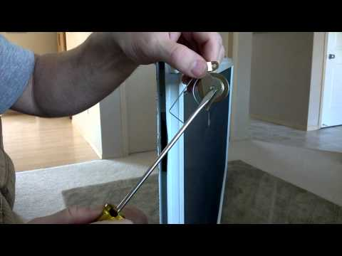 SCREEN DOOR WHEEL REPLACEMENT
