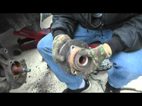 How to change a Chevy Avalanche wheel bearing/hub