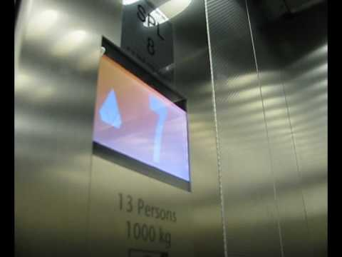 Tour of the lifts at Gatwick south terminal