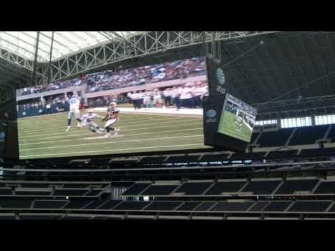 Tour of the Dallas Cowboys Stadium, Arlington, Texas