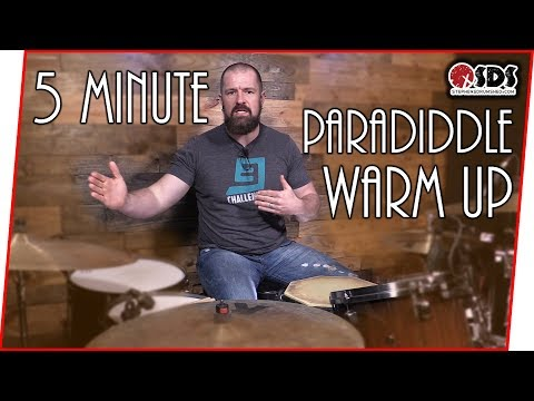 5 Minute Paradiddle Warm Up | DRUM LESSON