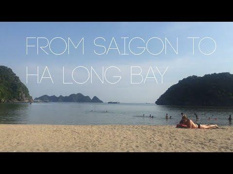 from saigon to ha long bay