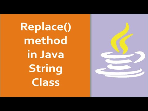 Java Tutorials for Beginners - What is replace() method in java String class