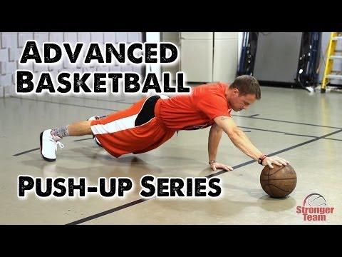 Advanced Basketball Push-up Series