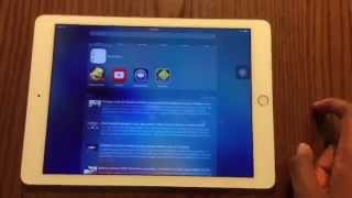 iOS 9 New Features + Review on iPad Air 2