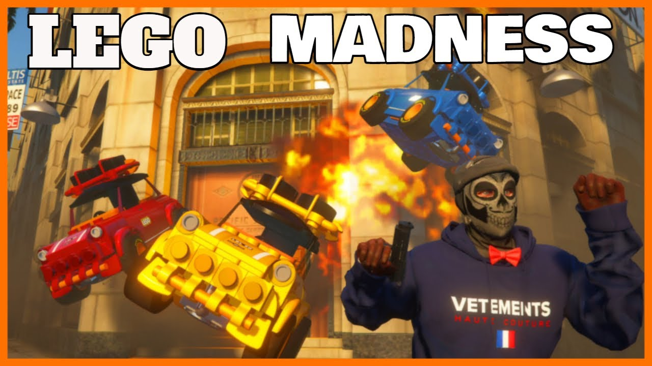 GTA 5 Roleplay - Lego Mininess | RedlineRP