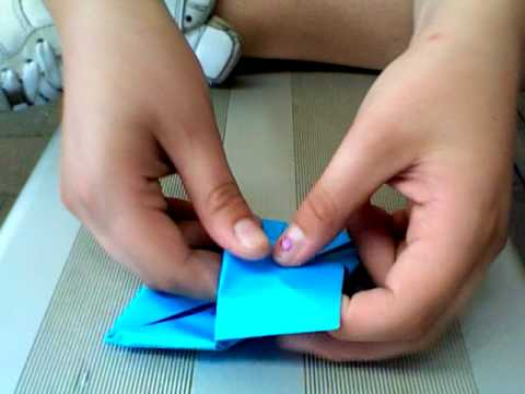 how to make a paper lilypad