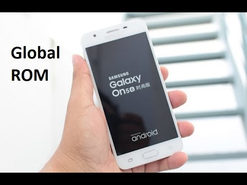 Global ROM For Samsung Galaxy On5 (2016) : SM-G5520 - Multi