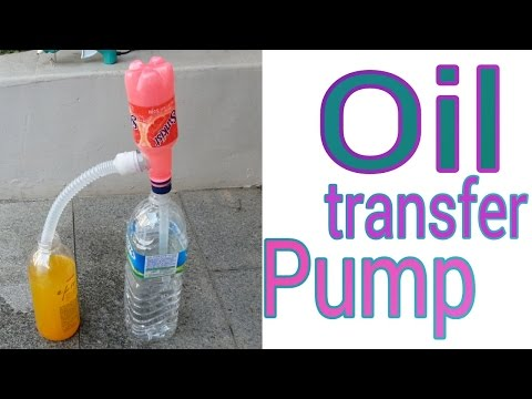 How to Make Oil Transfer Pump
