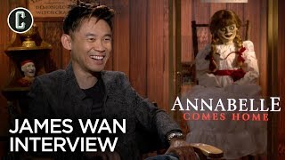 James Wan Interview Annabelle Comes Home