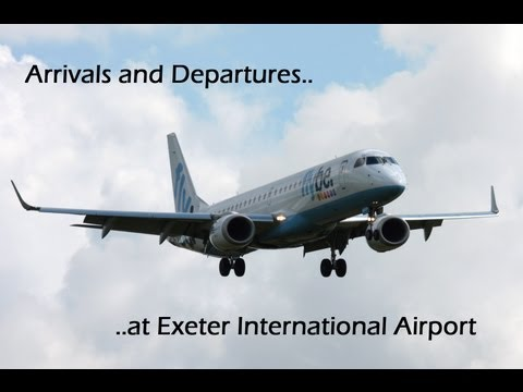 Arrivals and Departures at Exeter Int'l Airport!