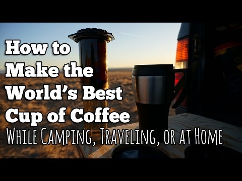 Best Camping Coffee Maker - How to Make a Truly Delicious Cup
