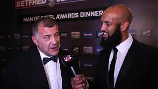 Emotional Shaun Wane reacts to been named Coach of the Year