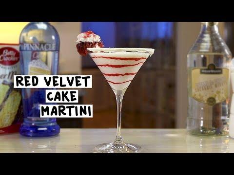 Red Velvet Cake Martini - Tipsy Bartender