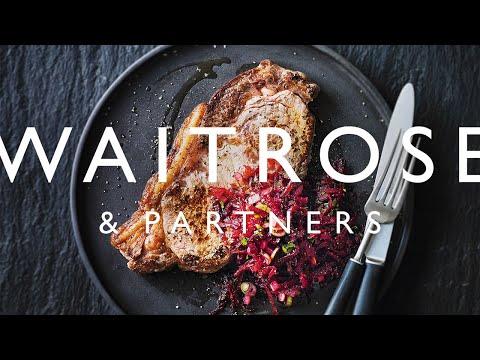 Sirloin Steak with Spiced Beetroot Salsa | Waitrose