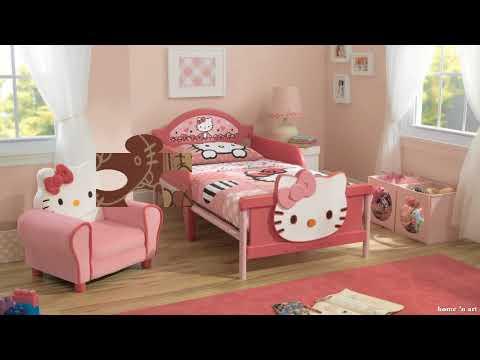 VERY CUTE!!! THE BEST 50 GIRL BEDROOM DESIGN IDEAS THEME HELLO KITTY