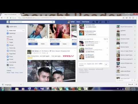 How to delete a facebook group bangla