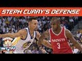 Rockets Attack Steph Curry On Defense HoopsNBrews