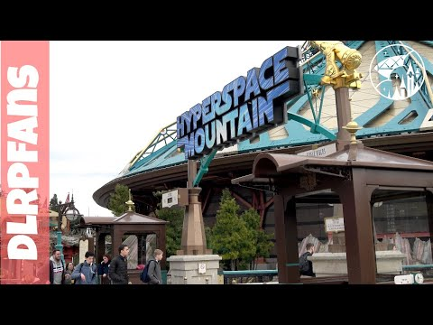 Coffee and Hyper Space during Extra Magic Time at Disneyland Paris