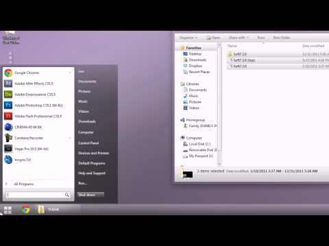 Windows 7 - Custom Themes & Start Orb Customization - Tutorial - HD
