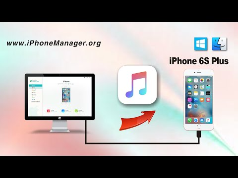 Put Songs on iPhone 6S Plus: How to Transfer Music from Computer to iPhone 6S Plus