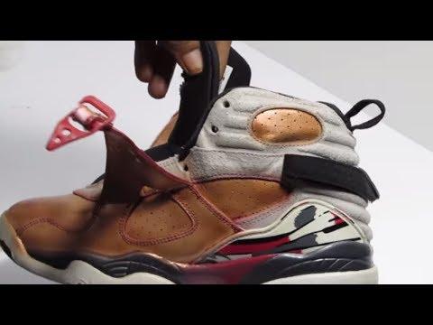 Custom Nike Air Jordan 8 Tutorial Time Lapse | Custom Jordan 8's Tutorial Custom Jordans Tutorial