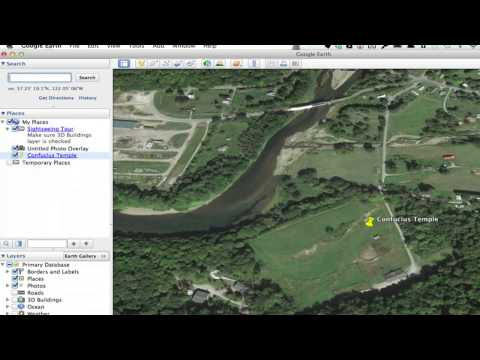 How to Add a Picture to a Placemark on Google Earth : Google & More Web Applications