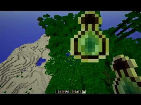 Minecraft 1.2 Bottle O'Enchanting