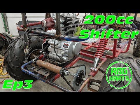 200cc Off Road Shifter Kart Ep 3