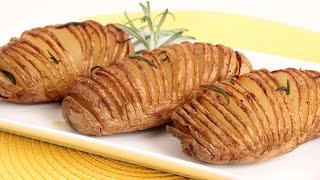 Hasselback Potatoes Recipe - Laura Vitale - Laura In The Kitchen Episode 850