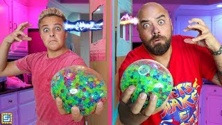 Mystery Toys Twin Telepathy Box Fort Mind Reading Challenge!