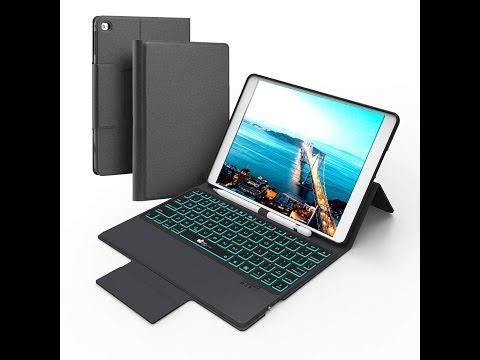 EC Technology 9.7 inch iPad Keyboard Case